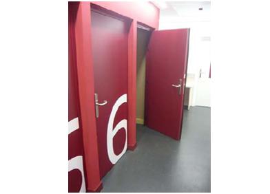 Puerta acustica elegance for Burlete puerta decorativo